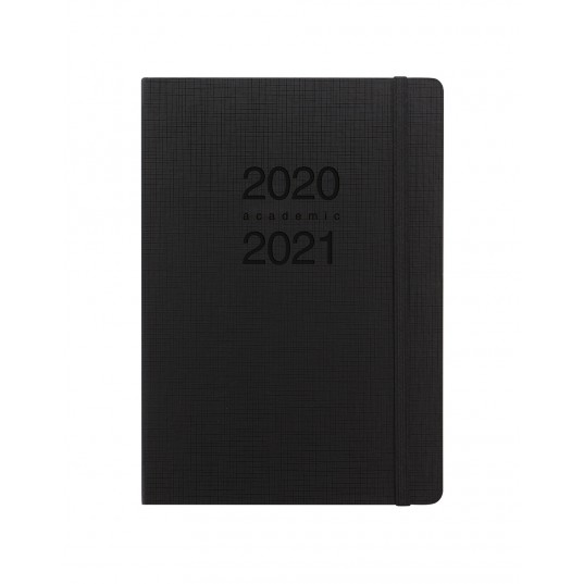Memo A5 Week to View Diary 2020-2021 Black
