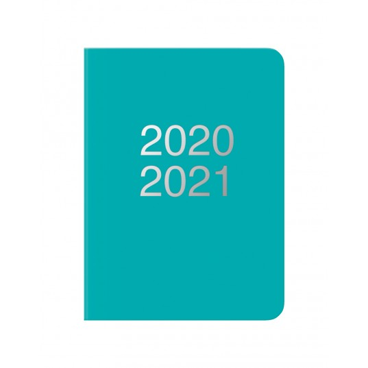 Dazzle A6 Week to View Diary 2020-2021 Turquoise