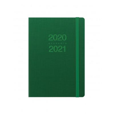 Memo A5 Week to View Diary 2020-2021 Green